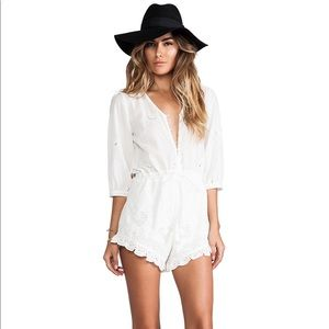 Spell and the Gypsy White Romper XS